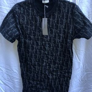 Black Dior Men's T shirt